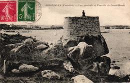 BRIGNOGAN -29- VUE GENERALE ET TOURVILLE DE CASTEL HOUET - Brignogan-Plage