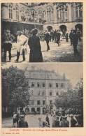 54 - MEURTHE ET MOSELLE / Lunéville - 543941 - Incendie Du Collège Saint Pierre Fourier - Beau Cliché Animé - Luneville