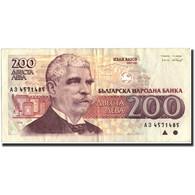 Billet, Bulgarie, 200 Leva, 1992, 1992, KM:103a, SUP - Bulgaria