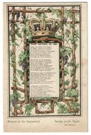 Chant National De 1860 - Van Campenhout / Ch. Rogier - Edit. Nels (couleurs) - 2 Scans - Patriotiques
