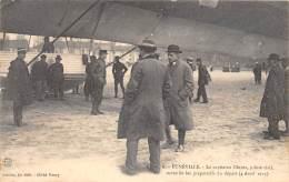 54 - MEURTHE ET MOSELLE / Lunéville - 544036 - Zeppelin - Beau Cliché Animé - Luneville