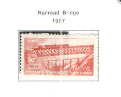 Brasile PO 1967 Ponte Su Strada Scott.1033+ See Scan On Scott.Page - Nuovi