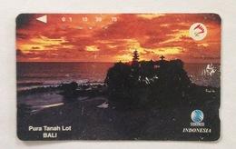 Indonesie Telefoonkaart - Telkom Indonesia (PURA TANAH LOT BALI) Used - Indonesia