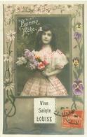 Enfants  -  Bonne Fête  , Vive Ste Louise   S1192 - Retratos