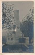 DECAZEVILLE - CARTE PHOTO - MONUMENT AUX MORTS DE DECAZEVILLE - INAUGURATION LE 9/12.34 - Decazeville
