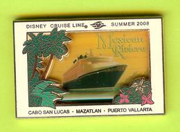 Pin's BD Disney Cruise Line Bateau Croisière Mexican Riviera - 5R05 - Disney