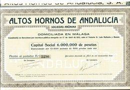 ALTOS HORNOS De ANDALUCÍA - Actions & Titres