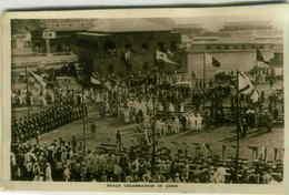 ADEN - PEACE CELEBRATION - BOAT POSTMARK / ANNULO DI BORDO -  REGIA NAVE ALULA - RARE - 1920s (2981) - Yemen