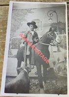 Photo Montage Trucage Foire Surréalisme Corrida Toréador Taureau - Corridas
