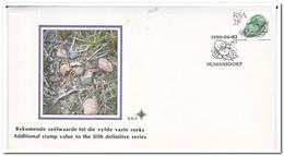Zuid Afrika 1990, FDC, Succulents - Zuid-Afrika (1961-...)