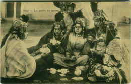 AFRICA - ARABIAN WOMEN WITH JEWELRY PLAY CARDS - 1910s ( 2942) - Cartoline