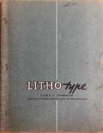 Manuel Litho Type SEMAG Constructeur - Machines