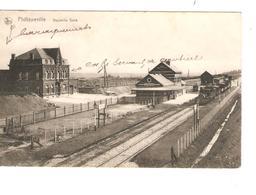 CP Philippeville Gare SM C.correspondance Privée C.Philippeville 17/7/1919  V.Hannut C.d'arrivée JS215 - WW I