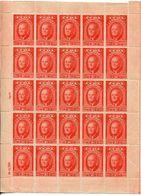 1947-CUBA-ROOSEVELT- BIG LOT - 40 CPL.SHEETS=1000 VAL.-M.N.H.-LUXE !! - Cuba