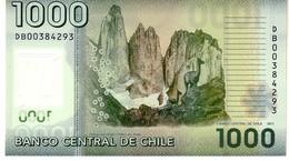 Chile P.161  1000 Pesos 2011 Unc - Cile
