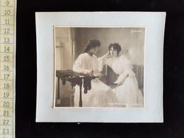 """Photo Sur Carton"""" Salon 1900 Lucien Berthault Interieur"""" - Photos"""