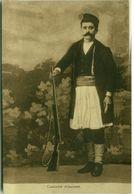 ALBANIA - MAN IN TRADITIONAL COSTUME / HUNTER- 1920s (2881) - Albania