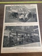 1903 INDUSTRIE AUTOMOBILE PNEU MICHELIN GILLET FOREST HENRIOD & CIE DECAUVILLE AINE L AUTOMOTRICE ETS LEVALLOIS PERRET - Collections