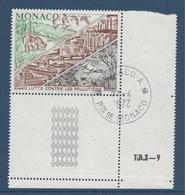 Monaco - YT N° 881 - Oblitéré, Dos Neuf Sans Charnière - 1972 - Monaco