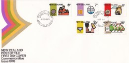 New Zealand 1976 Commemorative Issue FDC - FDC