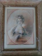 Tableau érotique Signé 1825 - Watercolours