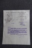 Facture Ancienne - ALLAIS (ALES) - Cycles Et Automobiles De DION BOUTON - Cars