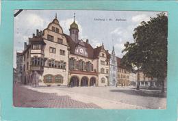 Old Small Postcard Of Rathaus,Freiburg Im Breisgau,Baden-Württemberg, Germany.,R53. - Freiburg I. Br.