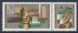 DDR Germany 1982 Mi 2732 + Zierfeld ** Karl-Marx-Monument, Bauwerke In Chemnitz (Karl-Marx-Stadt) - OSS - Post