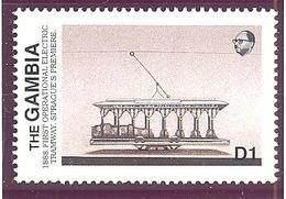 Gambie: Yvert N° 745**; MNH; Tramway - Gambie (1965-...)