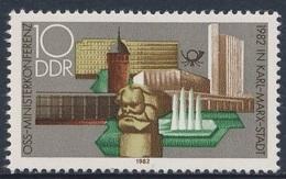 DDR Germany 1982 Mi 2732 ** Karl-Marx-Monument, Bauwerke In Chemnitz (Karl-Marx-Stadt) - OSS - Monumenten
