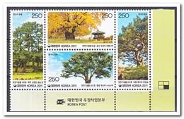 Zuid Korea 2011, Postfris MNH, Trees - Korea (Zuid)