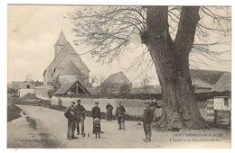 28 EURE ET LOIR - SAINT GEORGES SUR EURE L'Eglise Et Le Gros Orme (6m80) - France