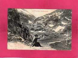 09 Ariège, Aulus-les-Bains, Plateau D'Arse, Animée, 1907, (Labouche) - France