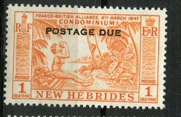 New Hebrides 1957 40c Postage Due Issue #J20 MNH - Unused Stamps