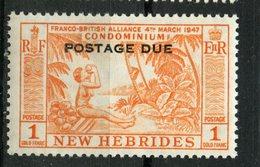 New Hebrides 1957 40c Postage Due Issue #J20 MNH - English Legend