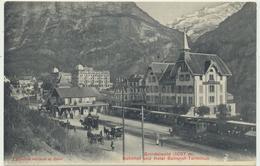 Grindelwald Bahn Und Postkutschen - BE Berne