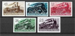 1559a: German Reich, Ca. 1942, Trains 5 Issues/ Reprints (fake-faux-forgeries) * - Deutschland