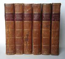 Nathaniel Hooke The Roman History 6 Vol - Old Books