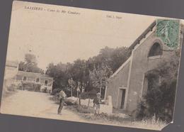 Cpa B9 SALLIERS Cave De Mr. Couderc-animée - Francia