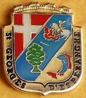 CC 309......BLASON.....SAINT GEORGES D ESPERANCHE........département De L'Isère, En Région Auvergne-Rhône-Alpes..... - Città