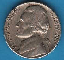 USA 5 Cents 1957 D Jefferson Nickel - 1938-…: Jefferson