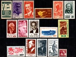 Brasil C 0506 / 521 Selos Comemorativos Completo 1964 NNN - Brasilien