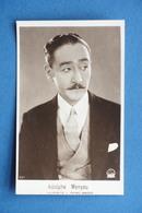 Cartolina Cinema Muto - Attore Adolphe Menyou - Anni '20 - Cartoline