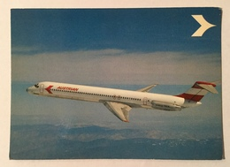 AUSTRIAN AIRLINES DOUGLAS DC-9 SUPER 80, MD -80 - NV FG - 1946-....: Era Moderna