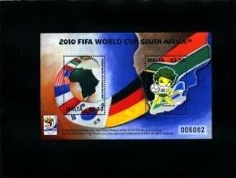 MALTA - 2010  FOOTBALL WORLD CHAMPIONSHIP  SOUTH AFRICA 2010  MS   MINT NH - Malta