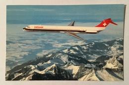 SWISSAIR - McDONNELL -  DOUGLAS DC-9 -81  NV FP - 1946-....: Era Moderna