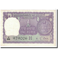 Billet, Inde, 1 Rupee, 1975, KM:77q, TTB+ - Inde