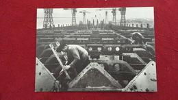 CPM FRANCOIS KOLLAR CONSTRUCTION DU PONT SUPERIEUR DU PAQUEBOT LE NORMANDIE 1932 - Otros Fotógrafos