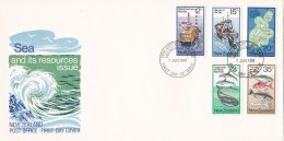 New Zealand 1978 Sea And Its Resources FDC - FDC