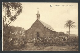 +++ CPA - Afrique - Congo Belge - KISANTU - L'Eglise Après La Messe - Nels   // - Congo Belge - Autres